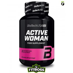 BiotechUSA Active Woman - 60 tabletta