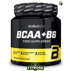 BiotechUSA BCAA + B6 – 340db tabletta