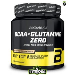 BiotechUSA BCAA + Glutamine Zero – 480g