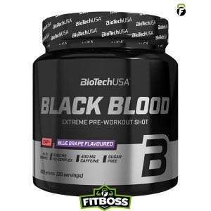 BiotechUSA Black Blood CAF+ (300 g)