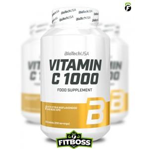 BiotechUSA C-Vitamin 1000 Bioflavonoids - 250 tabletta