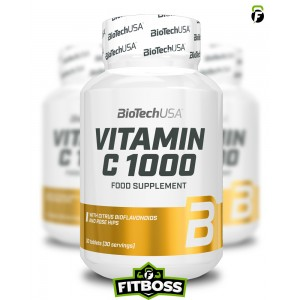 BiotechUSA C-Vitamin 1000 Bioflavonoids - 30 tabletta