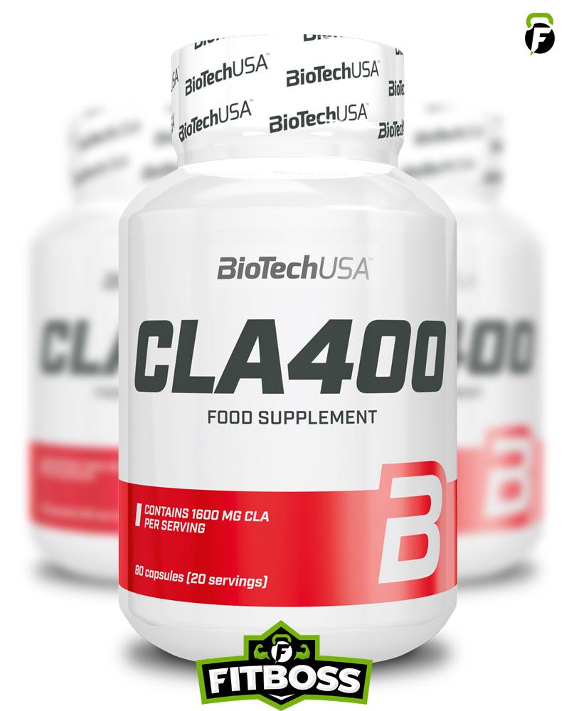 BiotechUSA CLA 400 - 80 softgels (lágyzselatin kapszula)