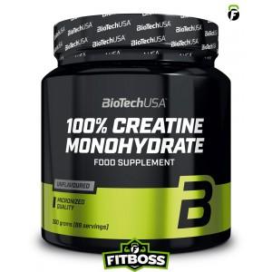 BiotechUSA 100% Creatine Monohydrate – 300g