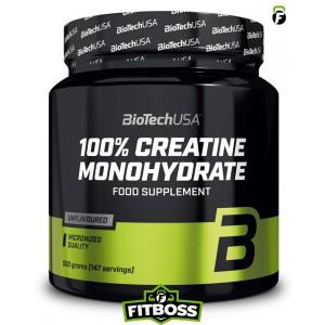 BiotechUSA 100% Creatine Monohydrate – 500g