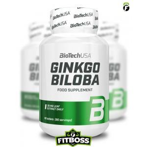 BiotechUSA Ginkgo Biloba - 90 tabletta