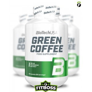 BiotechUSA Green Coffee - 120 kapszula
