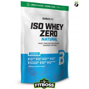 BiotechUSA Iso Whey Zero Natural – 500g