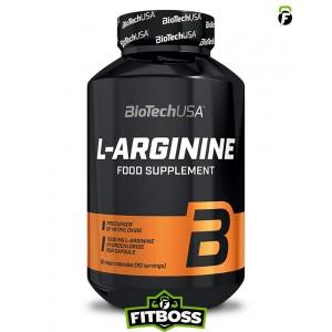 BiotechUSA L-Arginine – 90 db kapszula