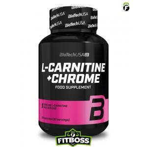 BiotechUSA L-Carnitine + Chrome - 60 kapszula