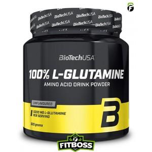 BiotechUSA 100% L-Glutamine – 500g