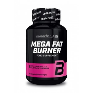 BiotechUSA Mega Fat Burner - 90 kapszula