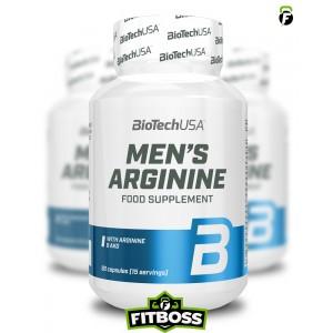 BiotechUSA Men's Arginine - 90 kapszula