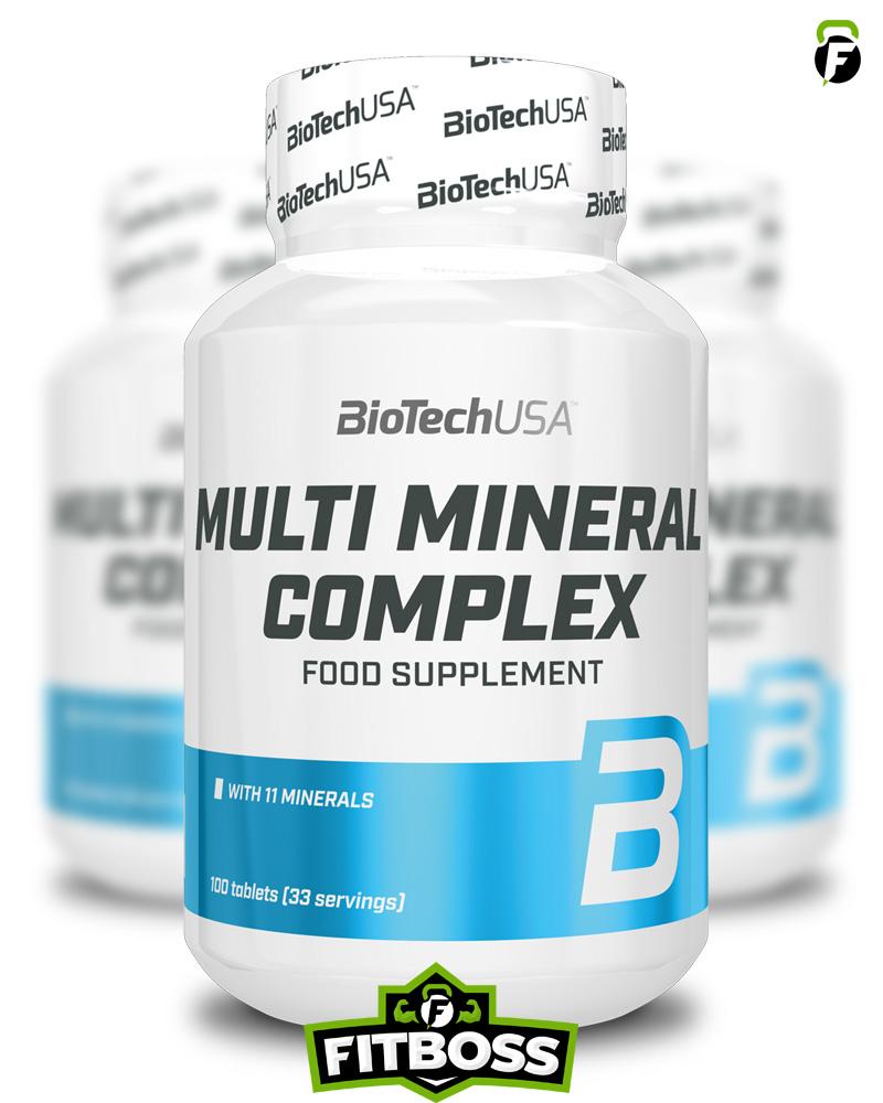 BiotechUSA Multi Mineral Complex - 100 tabletta