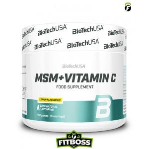 BiotechUSA MSM + Vitamin C -150 g