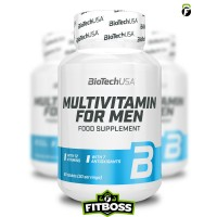 BiotechUSA Multivitamin for Men - 60 tabletta