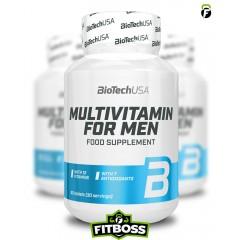 BiotechUSA Multivitamin for Men - 60 tabletta