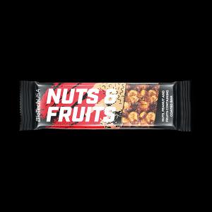 BiotechUSA Nuts & Fruits Bar - 40g