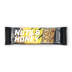 BiotechUSA Nuts & Honey Bar - 35g