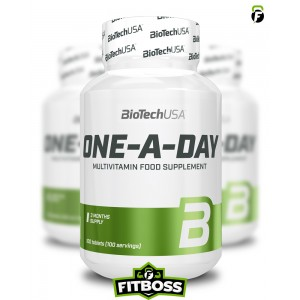 BiotechUSA One-A-Day Multivitamin - 100 tabletta