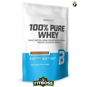 BiotechUSA 100% Pure Whey - 454g zacskó