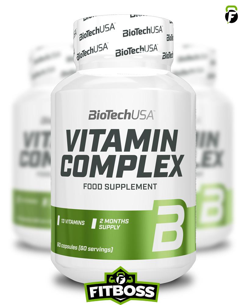 BiotechUSA Vitamin Complex - 60 tabletta