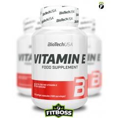 BiotechUSA Vitamin E - 100 tabletta